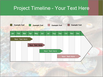 Palette with oil paint PowerPoint Templates - Slide 25