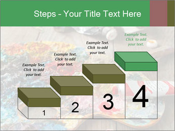 Palette with oil paint PowerPoint Templates - Slide 64