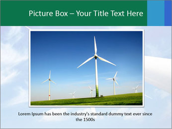 Wind energy turbine PowerPoint Template - Slide 15