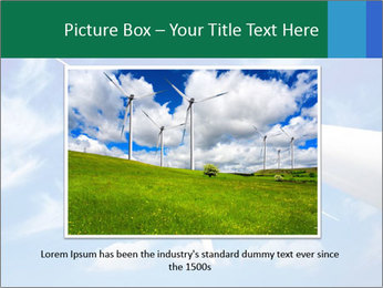 Wind energy turbine PowerPoint Template - Slide 16