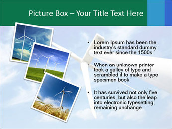 Wind energy turbine PowerPoint Template - Slide 17