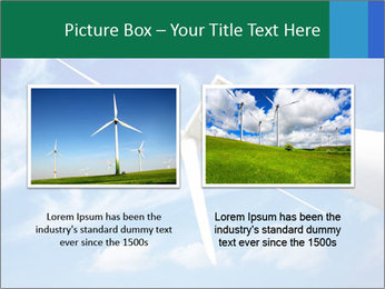 Wind energy turbine PowerPoint Template - Slide 18