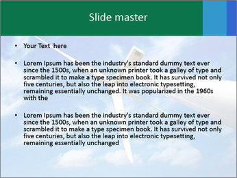 Wind energy turbine PowerPoint Template - Slide 2