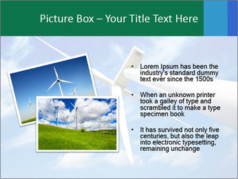 Wind energy turbine PowerPoint Template - Slide 20