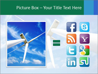 Wind energy turbine PowerPoint Template - Slide 21
