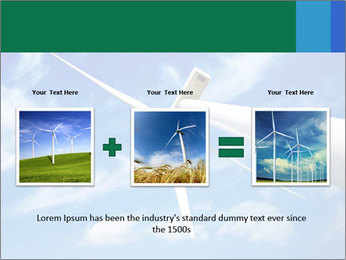 Wind energy turbine PowerPoint Template - Slide 22