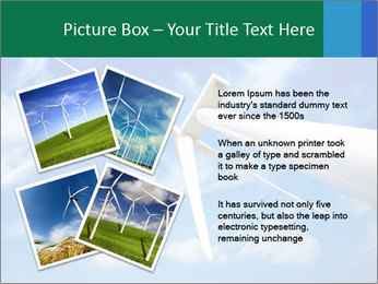 Wind energy turbine PowerPoint Template - Slide 23