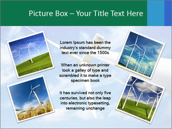 Wind energy turbine PowerPoint Template - Slide 24