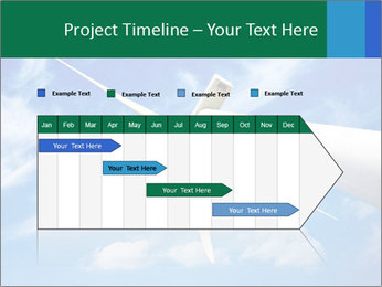 Wind energy turbine PowerPoint Template - Slide 25