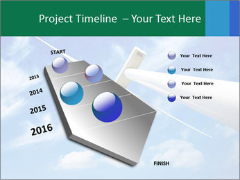 Wind energy turbine PowerPoint Template - Slide 26