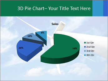 Wind energy turbine PowerPoint Template - Slide 35