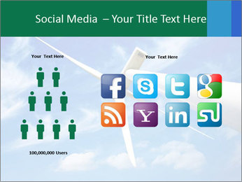 Wind energy turbine PowerPoint Template - Slide 5