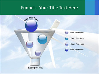 Wind energy turbine PowerPoint Template - Slide 63