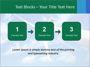 Wind energy turbine PowerPoint Template - Slide 71