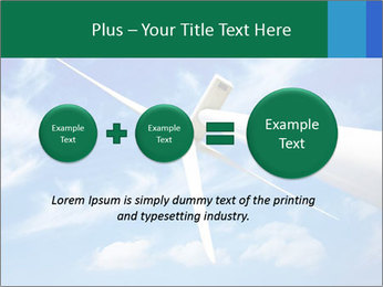 Wind energy turbine PowerPoint Template - Slide 75
