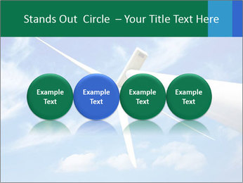 Wind energy turbine PowerPoint Template - Slide 76