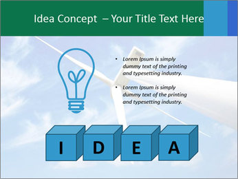Wind energy turbine PowerPoint Template - Slide 80