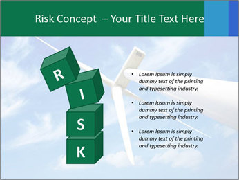 Wind energy turbine PowerPoint Template - Slide 81