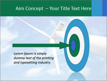 Wind energy turbine PowerPoint Template - Slide 83