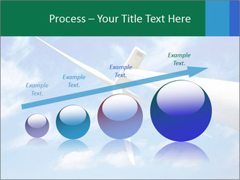 Wind energy turbine PowerPoint Template - Slide 87