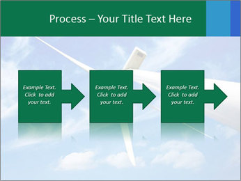 Wind energy turbine PowerPoint Template - Slide 88