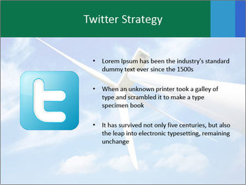 Wind energy turbine PowerPoint Template - Slide 9