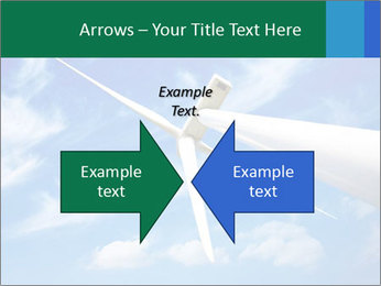 Wind energy turbine PowerPoint Template - Slide 90