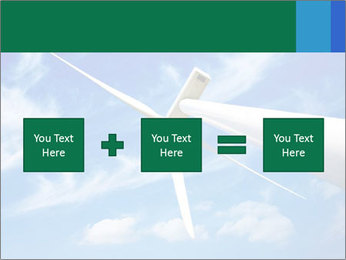 Wind energy turbine PowerPoint Template - Slide 95