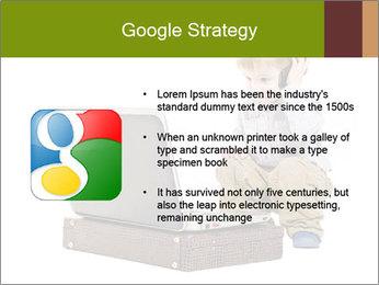 Cute little boy PowerPoint Template - Slide 10