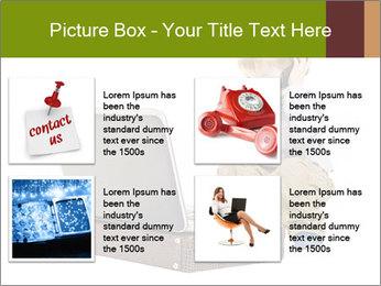 Cute little boy PowerPoint Template - Slide 14