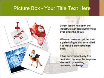 Cute little boy PowerPoint Template - Slide 23