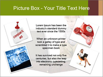 Cute little boy PowerPoint Template - Slide 24