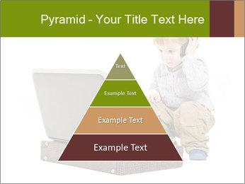 Cute little boy PowerPoint Template - Slide 30
