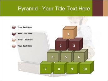 Cute little boy PowerPoint Template - Slide 31