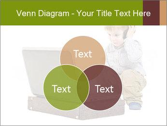 Cute little boy PowerPoint Template - Slide 33