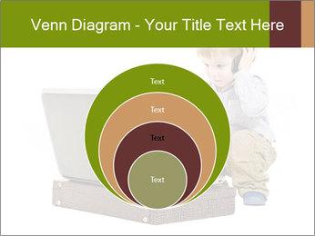 Cute little boy PowerPoint Template - Slide 34