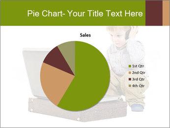Cute little boy PowerPoint Template - Slide 36