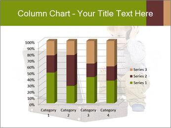 Cute little boy PowerPoint Template - Slide 50