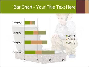Cute little boy PowerPoint Template - Slide 52