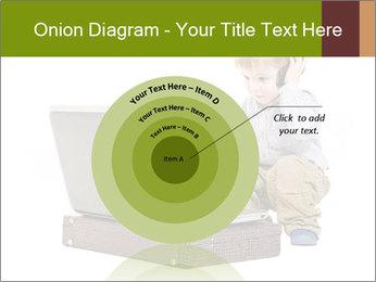 Cute little boy PowerPoint Template - Slide 61