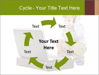 Cute little boy PowerPoint Template - Slide 62