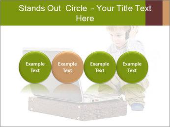 Cute little boy PowerPoint Template - Slide 76