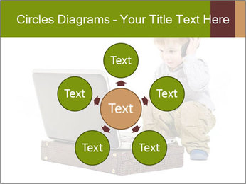 Cute little boy PowerPoint Template - Slide 78