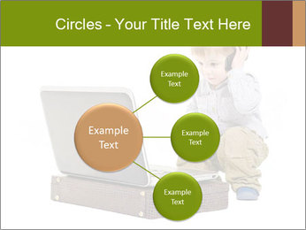 Cute little boy PowerPoint Template - Slide 79