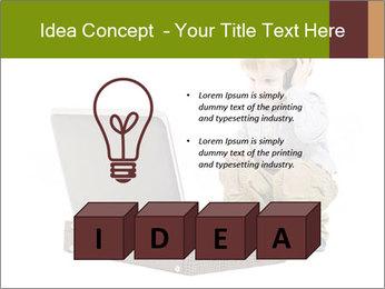 Cute little boy PowerPoint Template - Slide 80