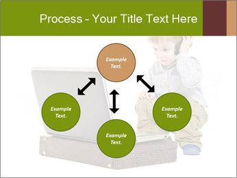 Cute little boy PowerPoint Template - Slide 91