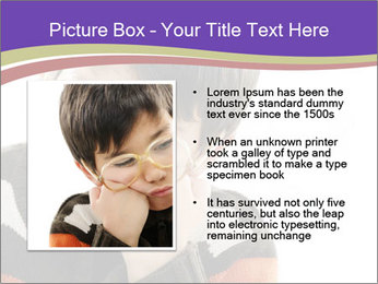 Angry little boy PowerPoint Template - Slide 13