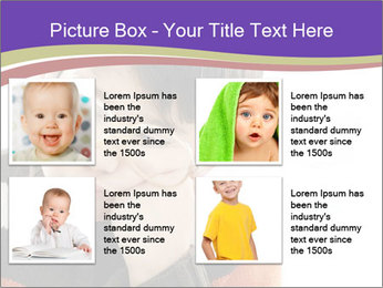 Angry little boy PowerPoint Template - Slide 14