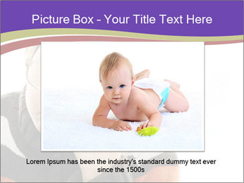 Angry little boy PowerPoint Template - Slide 16