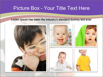Angry little boy PowerPoint Template - Slide 19